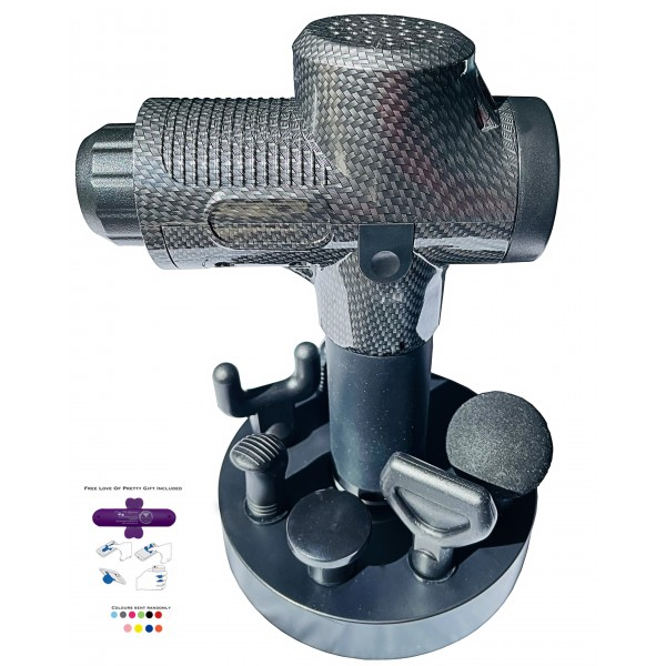 Powerful 30 Speed Professional Massager Gun And 6 Changeable Heads