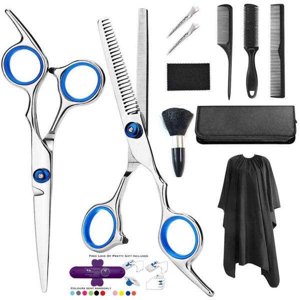 Professional Hairdressing/Barber Tools Scissors 11 Piece Set